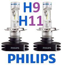 1 pr H9 H11 Philips Ultinon LED Globes Bulbs 12v 24v +160% Brighter
