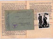 XX-FP 11.8.43 offener Briefstempel 3.Gal. XX Freiwill.Regt. 4 mit Inhalt/Bild_02