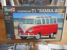 Modelkit Revell VW Volkswagen Transporter T1 Samba Bus on 1:24 in Box