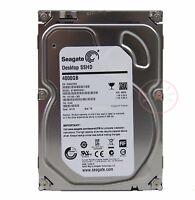 """New Seagate Desktop SSHD 4TB,Internal,7200 RPM,8.89 cm 3.5"""" (ST4000DX001) SSHD"""