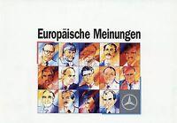 Mercedes Lkw Leichte Klasse Prospekt 1990 5/90 Broschüre Nutzfahrzeug Lastwagen