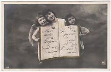 EARLY FRENCH GLAMOUR - Je Pense a Vous - #MF #632 - 1906 Real Photo postcard