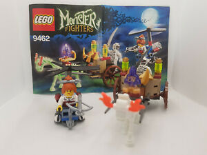 LEGO Monster Fighters The Mummy (9462) 100% complete with box & instructions