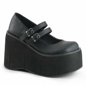 KERA-08  Black Vegan Leather