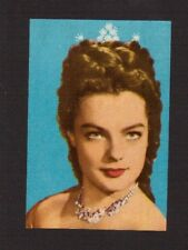 Romy Schneider Actress Vintage History of the Cinema Spanish Movie Film Card