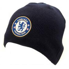 Official Licensed Product Chelsea Knitted Hat NV Blue Beanie Winter Crest Gift