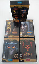 WarCraft 3 Diablo 2 Lord of Destruction StarCraft Brood Wars Expansion Set Games