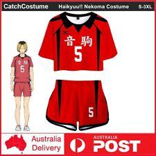 Haikyuu!! Nekoma High School NO.5 Kenma Kozume Cosplay Costume Jersey T-Shirt