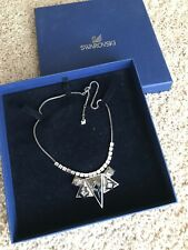 Exquisite Swarovski Box Chain couture Crystal Necklace in Box