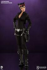 """CATWOMAN SELINA KYLE BATMAN 1/6 DC UNIVERSE COMICS 12"""" FIGUR SIDESHOW"""