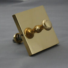 Victorian Style Brass Front Door Bell Pull