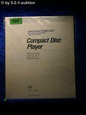 Sony Bedienungsanleitung CDP C535 CD Player (#0580)
