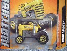 Matchbox 2012 # 062/120 Crop Master Tractor Amarillo may12b liberación