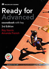 MACMILLAN Ready for Advanced CAE 3rd Ed Coursebook w Key&MPO 2015 Revisions @NEW