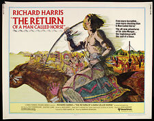 "1976 The Return Of A Man Called Horse Half Sheet(22"" x 28"")Original Movie Poster"
