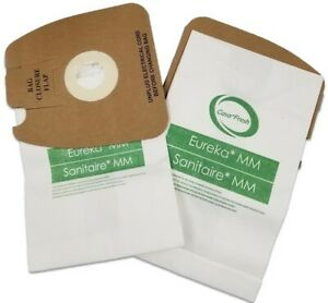6 EUREKA MIGHTY MIGHT Style MM Anti Bacterial Micro Lined Vacuum Cleaner Bags