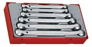 Teng Tools TT6506 6 Piece 12 Point Double Flex Wrench Set