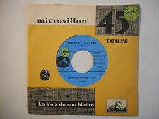 45t SIXTIES PORT 0€ ▓ FRANCK POURCEL : LA MARIE JOCONDE / HYMNE A L'AMOUR