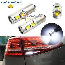 2PCS White 3W CREE w/ 8-SMD BAX9S H6W 150° 433C 434 Car Auto LED Lights Bulbs