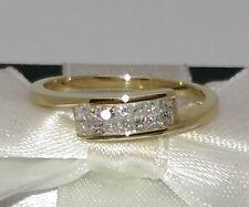 Princess Gold VS1 Fine Diamond Rings