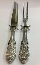 Wallace Sir Christopher 2 Piece Sterling Silver 925 Carving Set