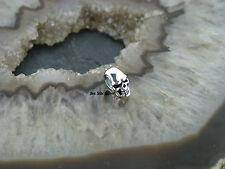 Ketten Anhänger Beads Kleiner Totenkopf Skull Anhänger Gothic Celtic Silber 925