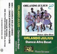 ORLANDO JULIUS Dance Afro-Beat NEW CASSETTE Shanachie highlife afrobeat