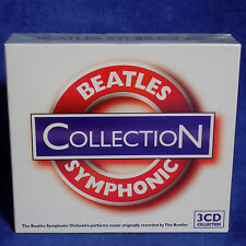 BEATLES SYMPHONIC COLLECTION 3 CD SET GREATEST HITS LOVE SONGS MOVIE HITS - NEW