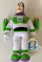 "Disney Toy Story 2 Star Bean Buzz Lightyear 9"" Beanbag Plush Mattel NWT VINTAGE"