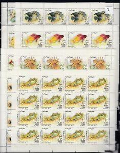 OK 16X SOMALIA 1994 - MNH - MARINE LIFE - FISH - WHOLESALE