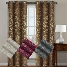 Micro Suede Claire Blackout Grommet Curtain Panels (Pair)