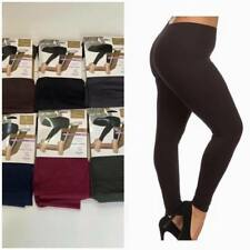 Woman girls Leggings Thick Winter Warmer Soft Fleece one Size 8-18  thermal
