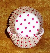 Valentines,Sweet Mini Dot,Cupcake Papers,Bake Cups,Wilton,50,Pink,425-2544
