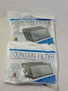 Pioneer Replacement Fountain Filters for Plastic Fountains (2-Pack) - NEW/SEALED
