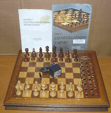 Novag Constellation Expert 853 - working chess computer with manuals - rare wood