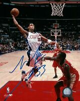 Mikki Moore Signed 8X10 Autograph Photo Photograph Clippers Dunkings w/COA
