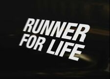 Runner for Life Running 4x4 Caravane Anti-Chocs Sticker Window Ordinateur Portable Graphic sign