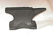 anvil, antique cast iron miniature