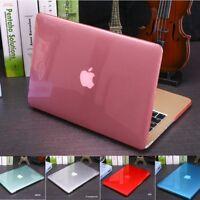 Crystal Transparent Hard Case Laptop Cover for Macbook Air Pro Retina 11 13 15