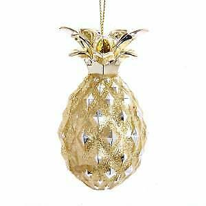 Gold Pineapple Ornament w