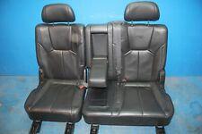 SsangYong Rexton RX270 Leder Rücksitzbank Rücksitz Sitz hinten links rechts