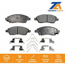 Front Ceramic Brake Pads Set Kit For Nissan Versa Note Micra