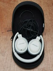 Genuine Bose OE2 Headband Headphones silver grey