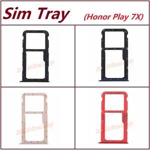 New OEM Nano Sim Card SD Card Tray Holder For Huawei Honor 7X  Play 7X Mate SE