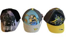Basecap Cap Kinder Kappe Mütze Gr. 52-53 Dinotrux, Star Wars, Minions Neu