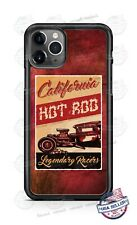 Hot Rod Legendary Racers California Phone Case For iPhone Samsung S20 LG Google