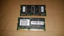 2x 256MB Toshiba THLY25N01B75 RAM PA3086U-1M25 Laptop Memory PC133 SDRAM