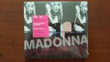 Madonna ‎– Sticky & Sweet Tour CD + DVD EU 9362-49728-4 SEALED Candy Shop