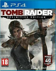 Tomb Raider Definitive Ed. Eu Eng PS4 sony PLAYSTATION 4
