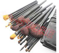 Set 18 pennelli Make Up Professionali + Pochette set Cosmetic Brush Trucco